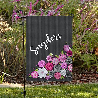 Floral Bouquet Family Garden Flag