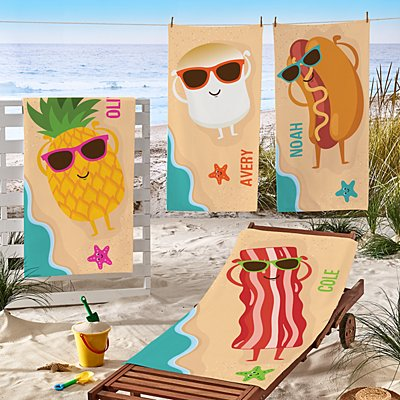 Gettin' Toasty Beach Towel