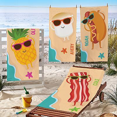 Gettin' Toasty Beach Towel
