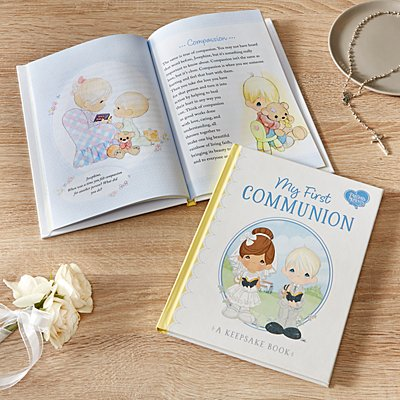Precious Moments First Communion Keepsake Book