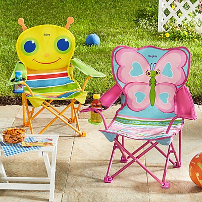 Melissa & Doug® Bright Bugs Outdoor Chairs