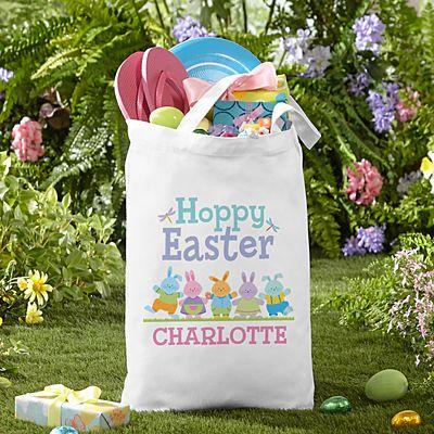 Bunny Parade Tote Bag