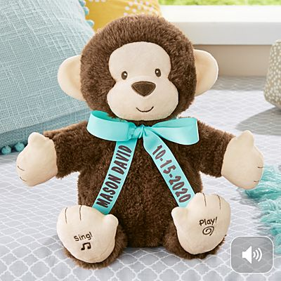 GUND® Clapper The Monkey Animated Plush