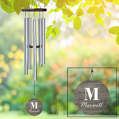 Initial & Name Wind Chime