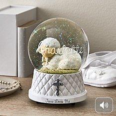 Jesus Loves Me Snow Globe