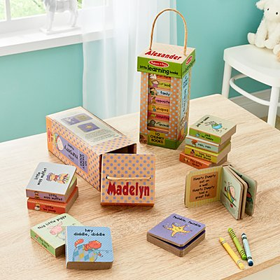Melissa & Doug® Natural Play Book Tower