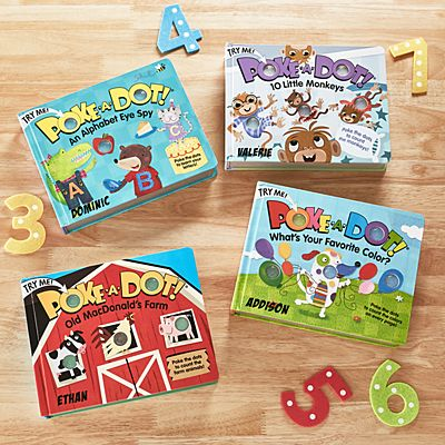 Melissa & Doug® Poke-A-Dot Books