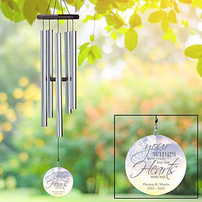 Memorial Wings Wind Chime