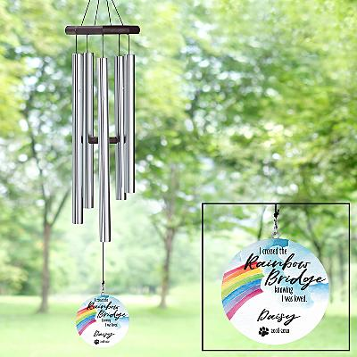 Over The Rainbow Bridge Wind Chime