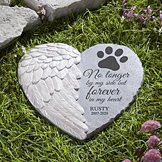 Pawprints on My Heart Stone