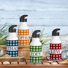 Perfect Plaid Water Bottle