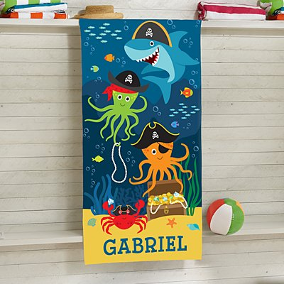 Pirate Parade Beach Towel