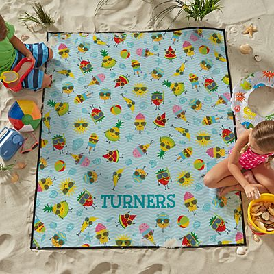 Pool Party Beach Blanket