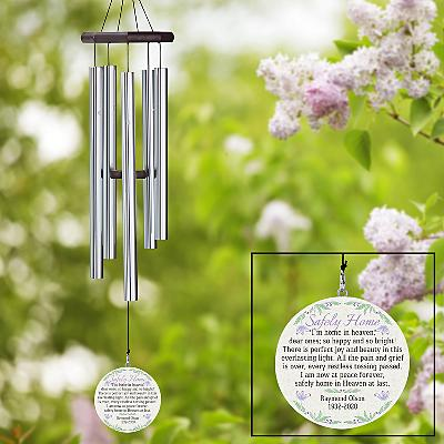 Safely Home Sympathy Wind Chime
