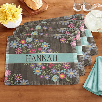 Spring Is Here Placemats