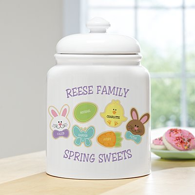 Sweet Bunny Treats Cookie Jar