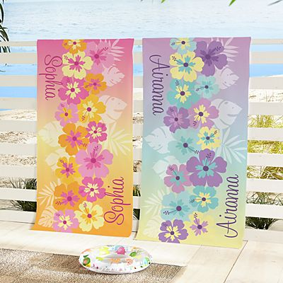 Tropical Dreams Beach Towel