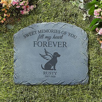 Forever Friend Pet Memorial Stone