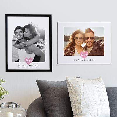 True Love Photo Canvas