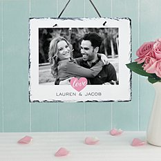 True Love Photo Slate