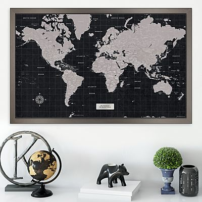 Urban Slate Destination Traveler Maps