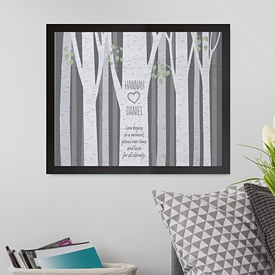 Love In The Woods Canvas