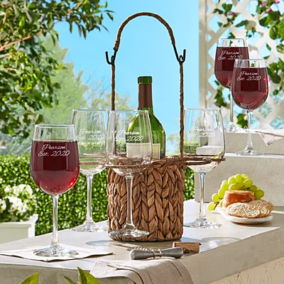 Vineyard Elegance 7 Piece Wine Set