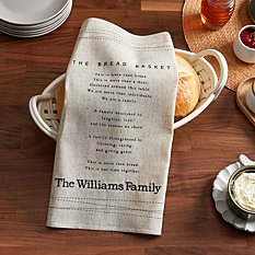 Family Gather Bread Basket