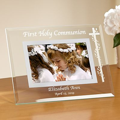 Communion/Confirmation Glass Frame