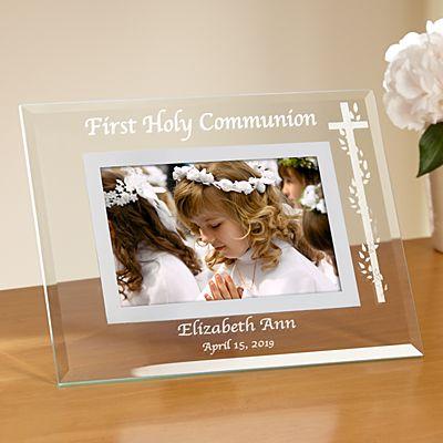 Communion/Confirmation Glass Frame