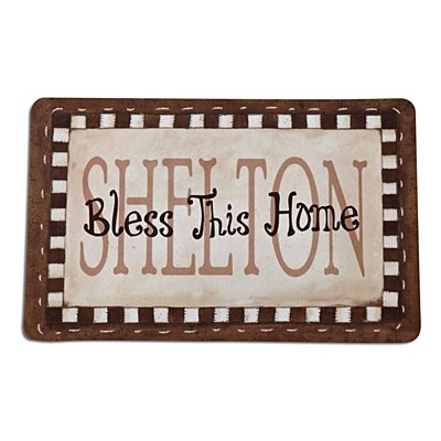 Bless This Home Doormat - 17 x 27