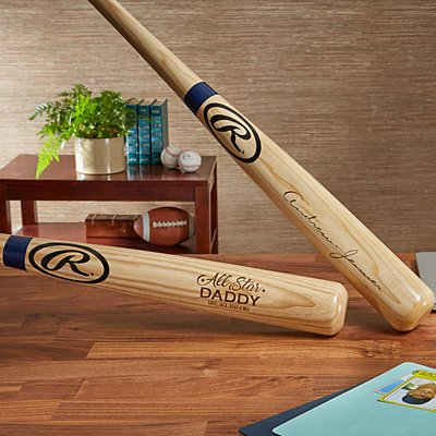 Rawlings® Engraved Baseball Bat
