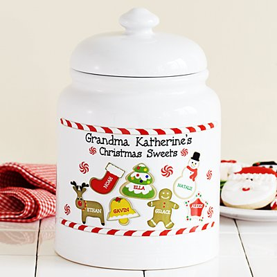 Christmas Sweets Cookie Jar