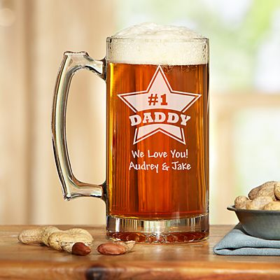 Star Design Oversized Beer Mug