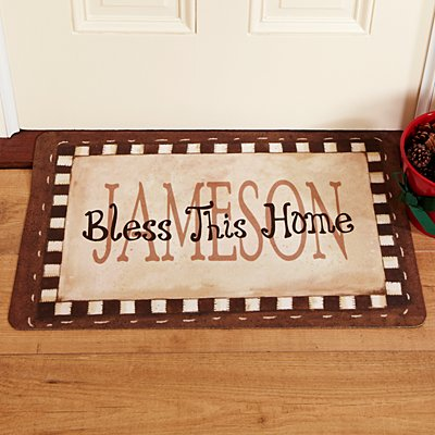 Bless This Home Doormat