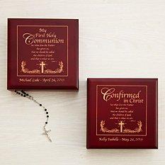 Scripture Communion & Confirmation Keepsake Box
