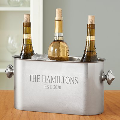 Stainless Steel Multi Bottle Wine Chiller