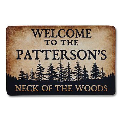 Neck of the Woods Doormat-17x27