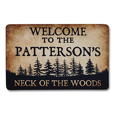 Neck of the Woods Doormat-17x27