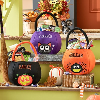 Safe & Smart Reflective Halloween Treat Bag