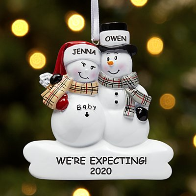 We're Expecting Couple Ornament