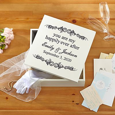 You Are My Happily Ever After Keepsake Box