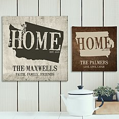 Home State Canvas