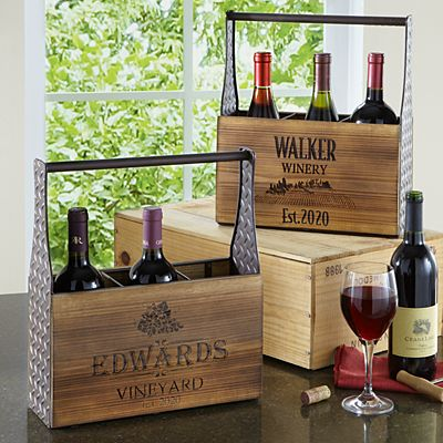 Vineyard Wine Caddy
