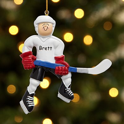 Hockey Player Bauble