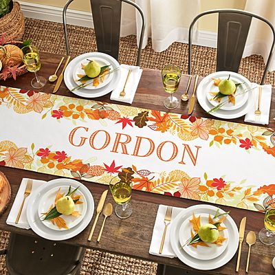 Fabulous Fall Table Runner