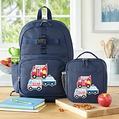 Fun Graphic Boys Navy Backpack Collection