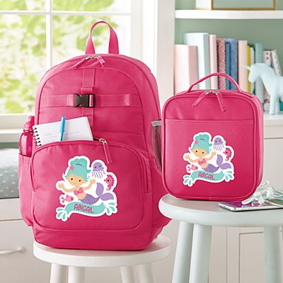 Fun Graphic Girls Pink Backpack Collection