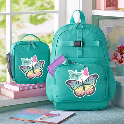 Fun Graphic Girls Aqua Backpack Collection