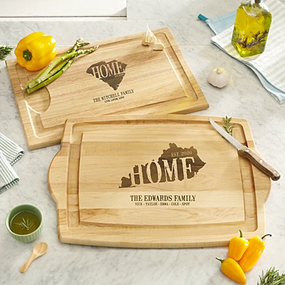 Home State Wood Cutting Board